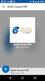 Radio Caracol FM- screenshot thumbnail