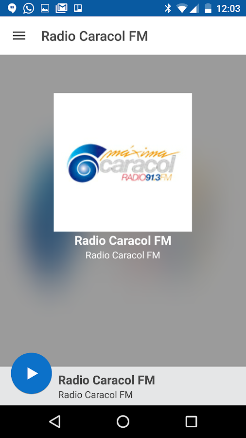 Radio Caracol FM- screenshot