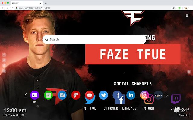 Tfue Twitch Streamer Social HD Themes
