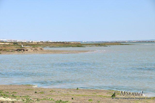 Punta del Boquerón y fortificaciones