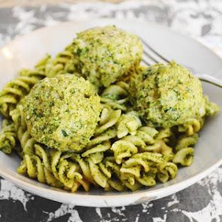 Asiago Spinach Chicken Meatballs