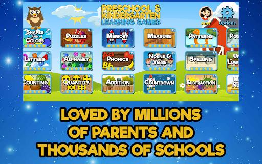 Preschool and Kindergarten Learning Games  screenshots 9