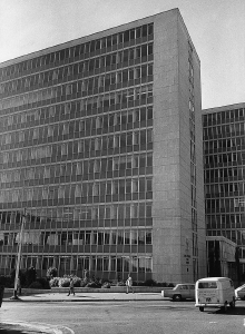 John Vorster Square police station in central Johannesburg, where Dr Neil Aggett died in detention in 1982.