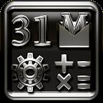 AMETAL Go Launcher Theme Icon