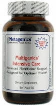 Metagenics Multigenics Intensive Care Dietary Supplement - 180ct