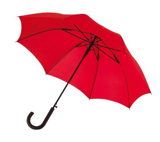 Automatic Windproof Umbrella in Light Blue