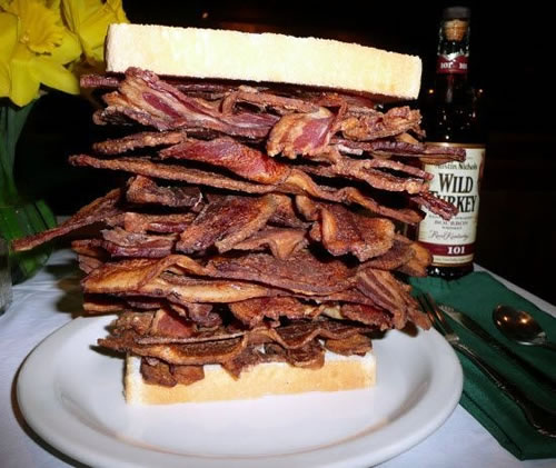 A bit more bacon, and this would be perfect
