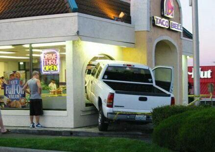 Hey look, the drive-thru is open!