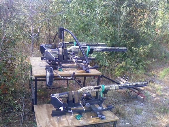 Only in Georgia: Internet-controlled shotguns linked to web cams on food plot
