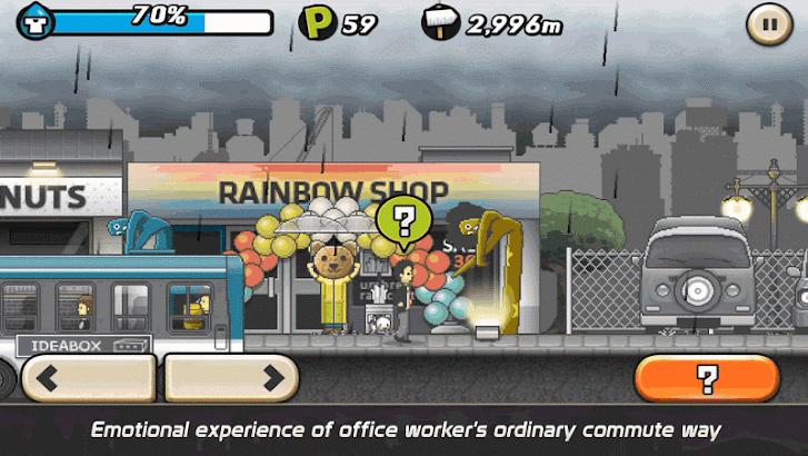 Rainy Day – A Run Rush screenshot
