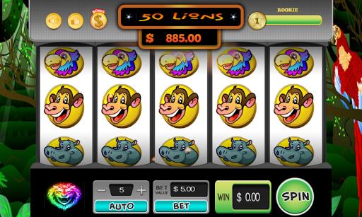 50 Lions Slots Deluxe