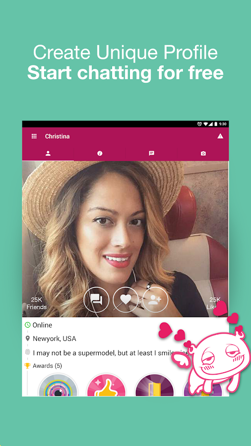 Waplog Chat & Free Dating- screenshot