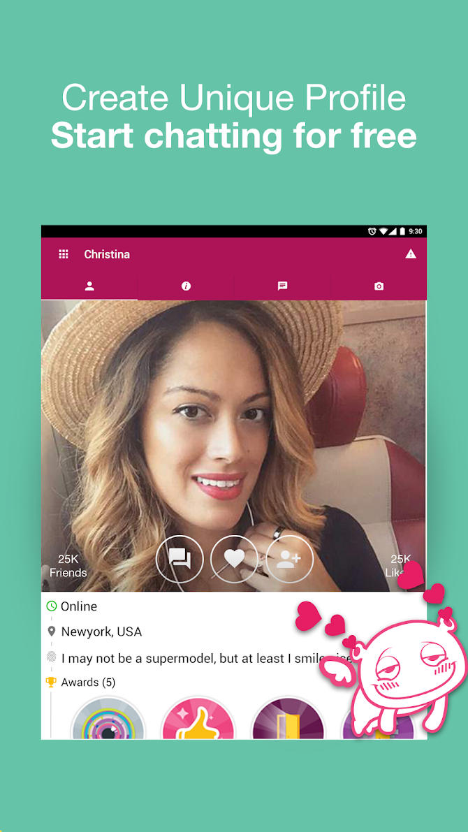 Waplog - Free Chat, Dating App, Meet Singles Android 9