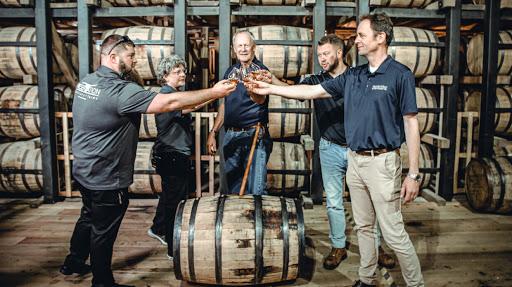 Bourbon News & Notes: Bardstown distilleries collaborate; Malachi's Manhattan at Jack Fry's