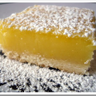 Bean's Lemon Square Bars