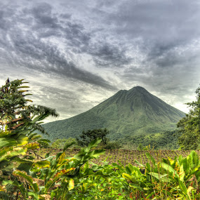 Volcan Arenal by James Woodward - Landscapes Travel ( sky, la fortuna, vacation, costa rica, volcano )