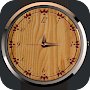 Analog Wood Watch Display APK icon