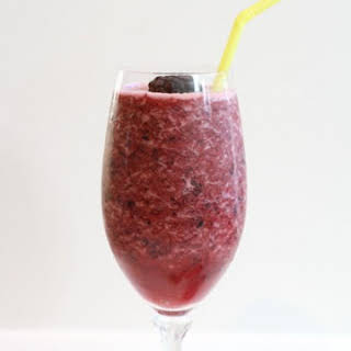 Lemon Berry Dessert Smoothie.