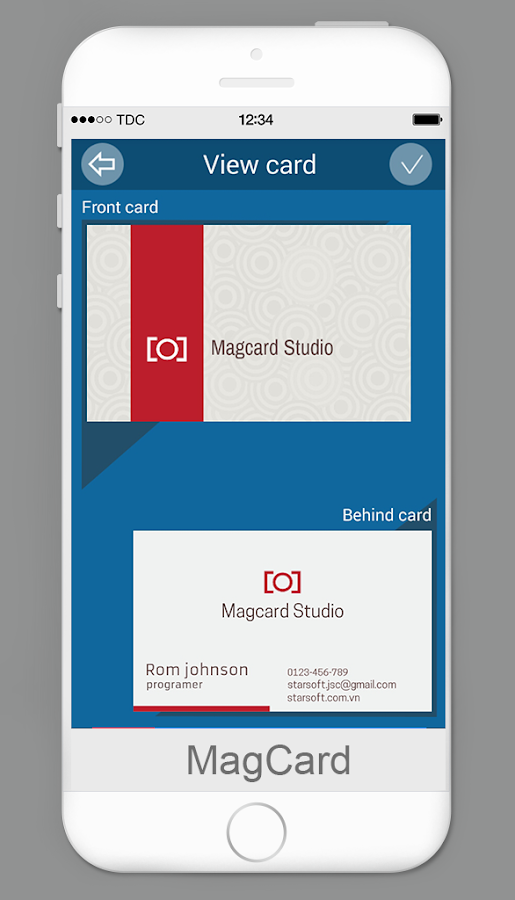 MagCards Business Card Design Android Apps on Google Play