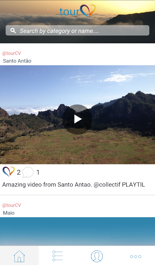Cabo Verde tourCV- screenshot