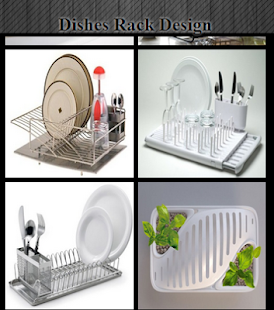 Dishes Rack Design - náhled