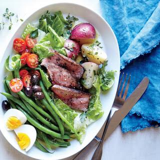 Steak Salad Niçoise.