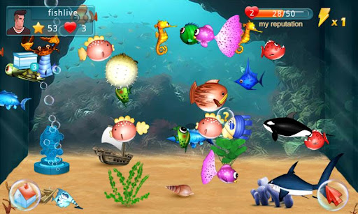 Fish Live screenshot 1
