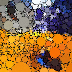 Father Figure by Chris Montcalmo - Abstract Patterns ( abstraction, circles, geometry, abstract )