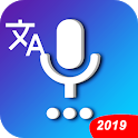Universal translator: Drop language, translate All icon