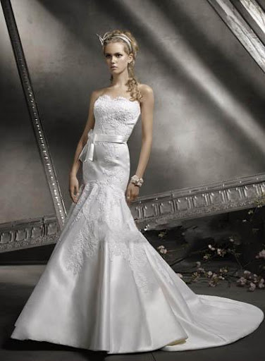Bridal Gown 2010 Mermaid Skirt