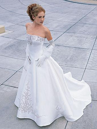 Informal Princess Wedding Dress Gown
