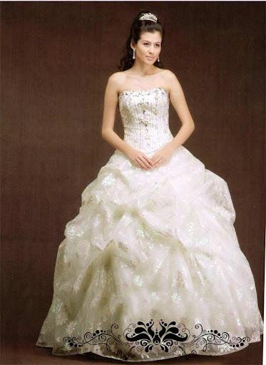 Elegant Bridal Gown, Wedding Dress