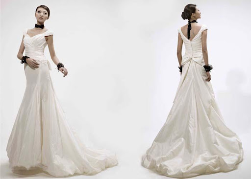Modern Wedding Dress, Bridal Gown