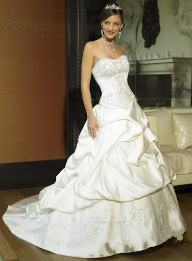 Princess A-Line Wedding Dress Gown