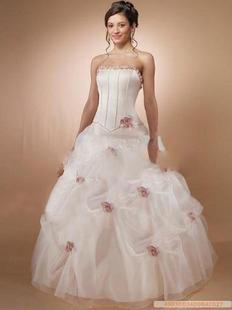 Romantic Rose Bridal Gowns Wedding Dresses