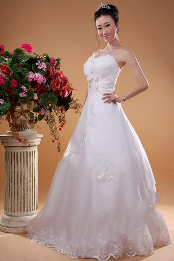 Dreamy Princess Wedding Gown 2010