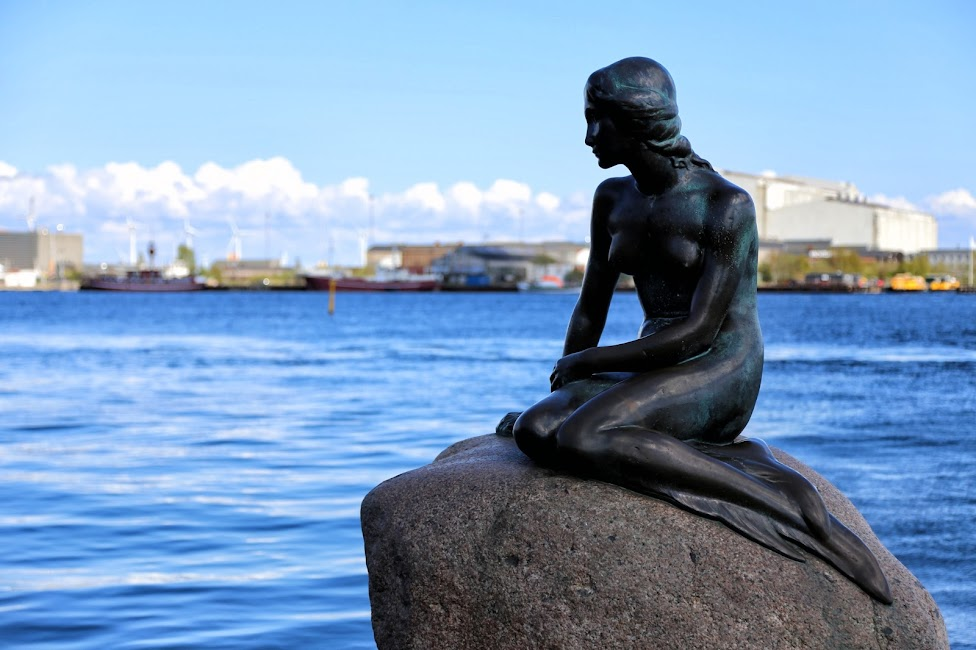 Kopenhaga, Den lille Havfrue, Pomnik Małej Syrenki