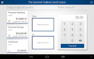 Screenshot of The Summit FCU