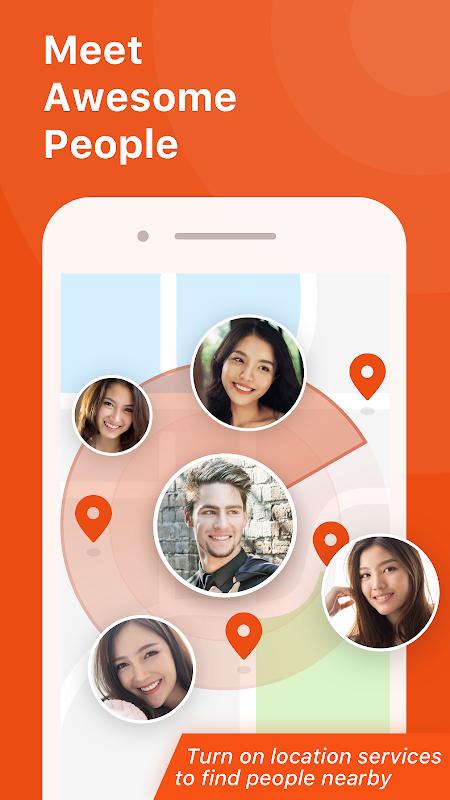 En dating app happn at finde en kamp i nærheden