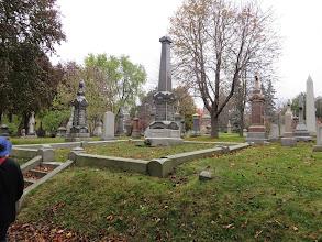 Photo: Notre Dames Des Neiges cemetery
