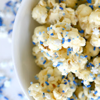White Mint Chocolate Popcorn