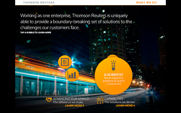 android Thomson Reuters Our Story Screenshot 6