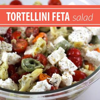 Tortellini Feta Salad