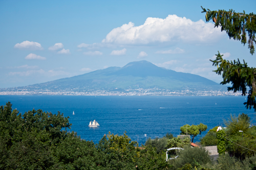 Mount Vesuvius Sorrento