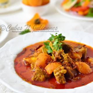 Khubani Gosht Korma (Lamb/Mutton with apricots)