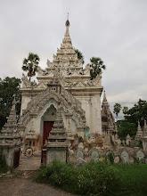 Photo: Kusa la's home at the monastery uni