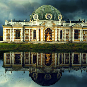 Sheremitte palace by Elli Kraizberg - Buildings & Architecture Other Exteriors ( reflection,  )