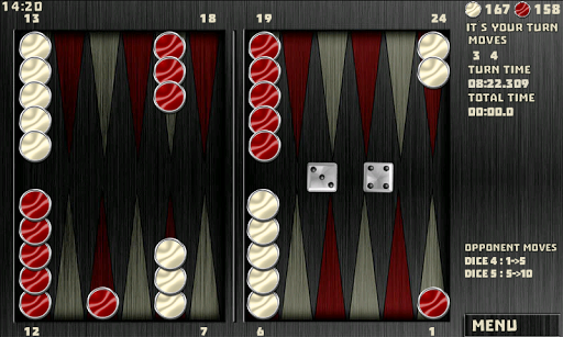 Backgammon Pack : 18 Games 6.060 androidappsheaven.com 4