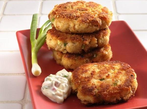 Down East Crab Cakes ~ Savoring Cape Cod Recipe