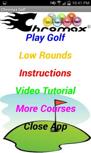 Pro Golf Game: Chromax Golf